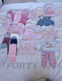 Girls first size clothes bundle