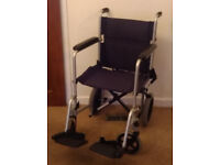 WHEELCHAIR, AS NEW - Z-TEC 600-604
