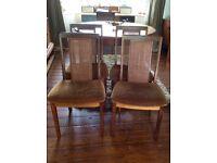 6 G Plan Teak Vintage Dining Chairs
