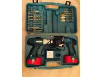 Two marks man drill with case