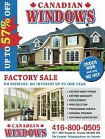 ✿ ✿ ✿  WINDOWS AND DOORS  ✿ ✿ ✿       July Special   ➼  57% Off