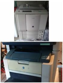 Two Printers/Photocopiers For Sale £75 And £175
