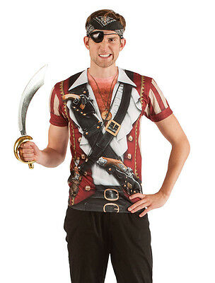 Pirate T Shirt Swashbuckler Fantasy Fest Faux Real Caribbean Festival - Real Pirate Costumes