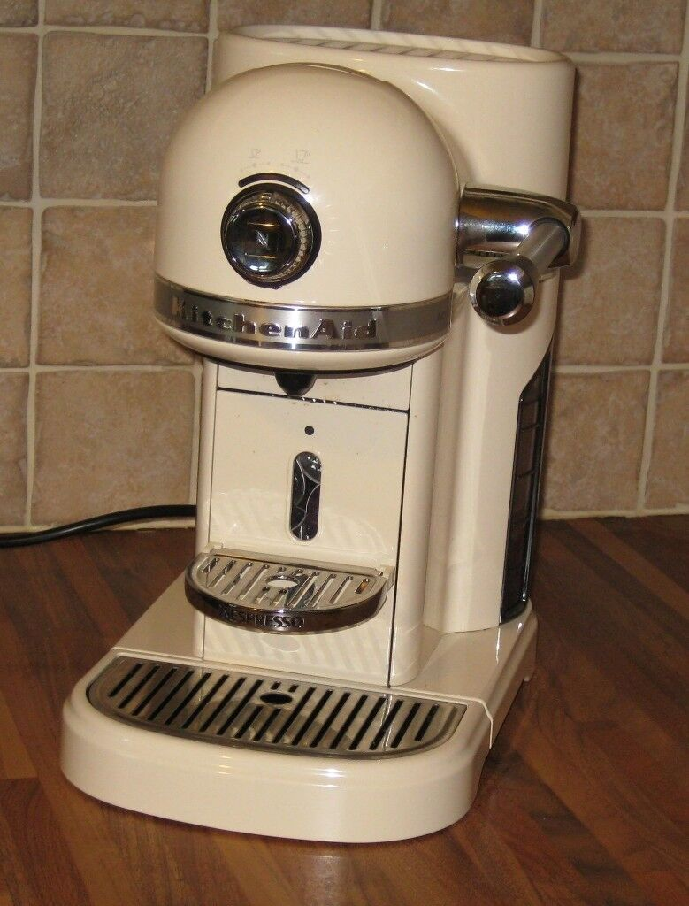 Kitchenaid Nespresso Coffee Machine Classic Cream With Original Box