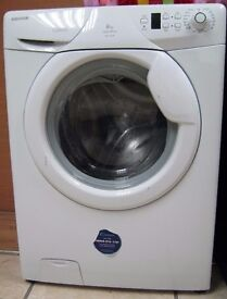 Hoover 1400 Spin Washing Machine, 8kg Capacity, 6 Month Cover