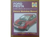 Haynes Ford Fiesta Owners Workshop manual 2002 to 2008