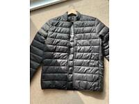Barbour men's jacket penton quilt new large