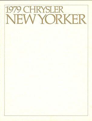 - 1979 Chrysler Fifth Avenue & New Yorker Sales Brochure