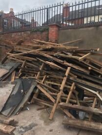 Free wood to collect