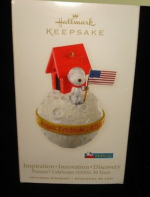 Hallmark 2008 Snoopy Peanuts Inspiration Innovation Nasas 50 Years    Bin 2