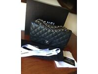 100% Authentic Chanel Classic Double Flap bag X