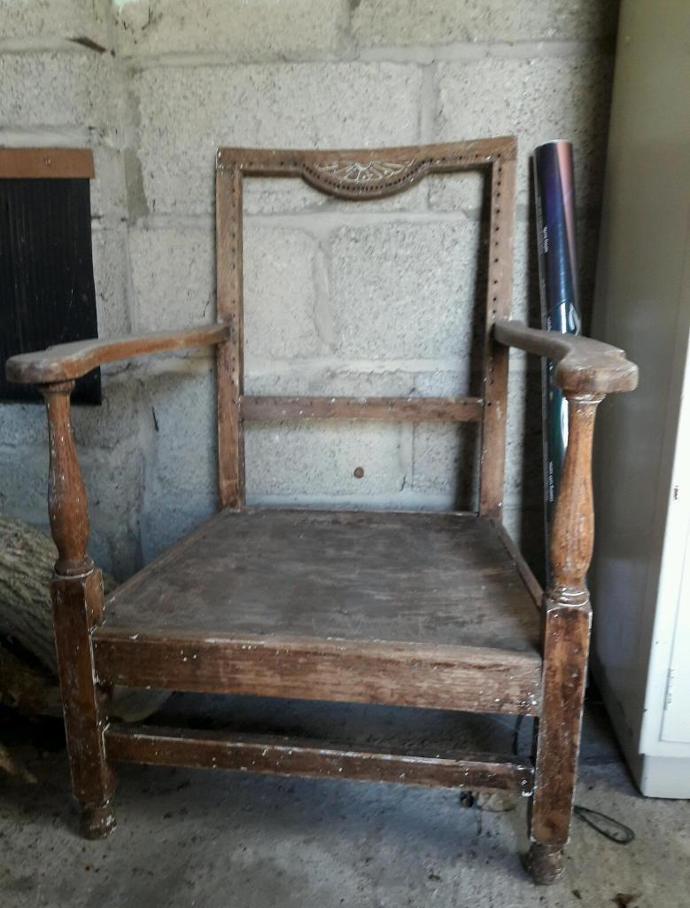 Vintage reading chair - Vintage Reading Chair In Trowbridge, Wiltshire Gumtree