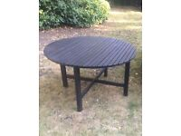 HALF PRICE!! ANGSO IKEA GARDEN TABLE STYLE AND FUNCTIONAL AND IN VERY GOOD CONDITION!