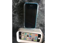 Blue iPhone 5c 16gb EE Network!