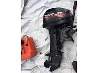 Outboard mercury 6-8 Hp sort Shaft Tiller BARGAIN