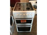 50CM HOTPOINT GAS COOKER WHITE EXCELLENT CONDITION, 4 MONTH WARRANTY