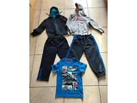 Boys Clothes Bundle, Age 5-6 Slazenger Tracksuit Bottoms Junior J Hoodies