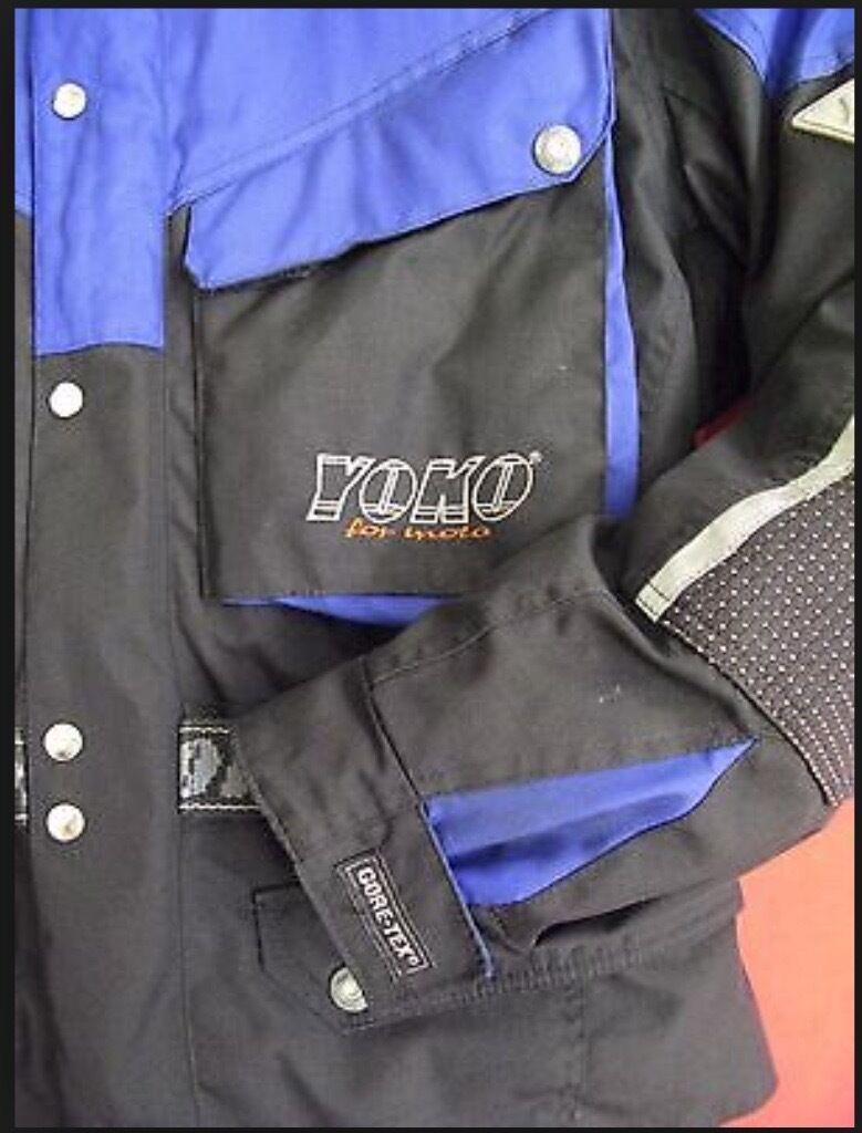 Yoko motorcycle gloves - Yoko Gore Tex Motorcycle Jacket
