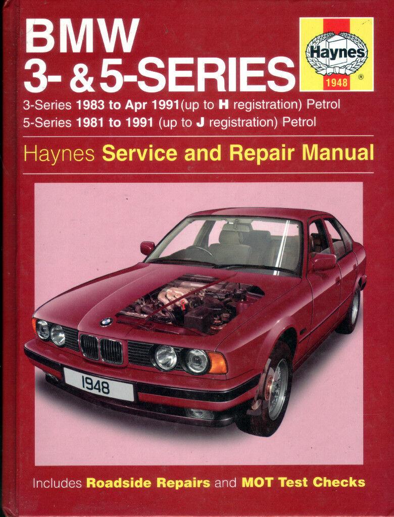 HAYNES BMW 3 & 5 SERIES SERVICE & REPAIR MANUAL 1981 - 1991
