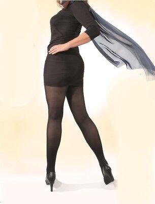 NEU Gr VI = 50-52 Strumpfhosen Übergröße Panty Hose Pantyhose Plussize div.Farbe