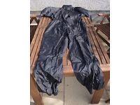 Weiss motorcycle rain suit