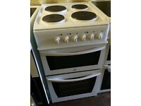 INDECENT White 50cm electric cooker