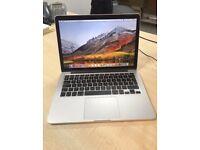 MacBook Pro 13'3inch Retina Display 512GB SSD 8GB 2.8 GHz Intel Core i5 Intel Iris 1536 MB for sale