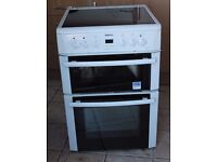 Beko DVC663 60cm, double oven electric cooker WARRANTY GIVEN