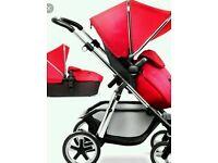 New Silver Cross Wayfarer pram pushchair & carrycot