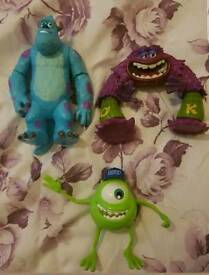 Monsters university figures