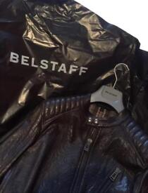Belstaff K Racer Leather Jacket Size 48 Medium