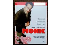 Monk - Series 1-6, in a DVD carry case