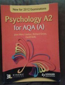 AQA (A) A2 Level Psychology Textbook - Jean-Marc Lawton, Richard Gross and Geoff Rolls