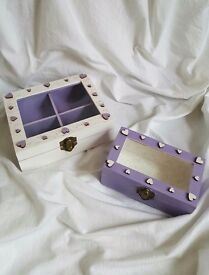 Jewellery boxes, handmade home decoration