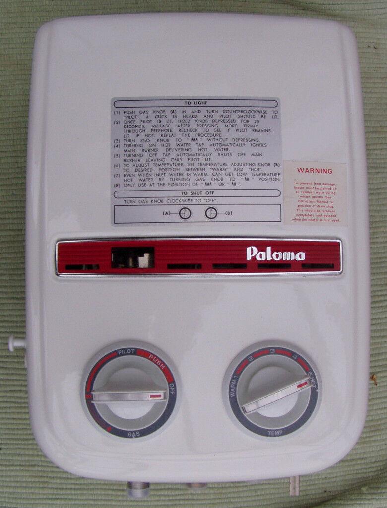 Paloma ph5-3f water heater boiler caravan camper.