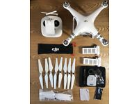 DJI Phantom 3 Advanced Including Backpack & Accessories (Total Retail Price: £1077)