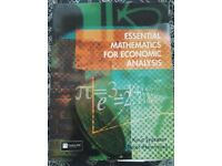 Essential Mathematics for Economic Analysis - £5 - collection only
