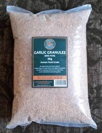 3kg Garlic Granules brand new bag