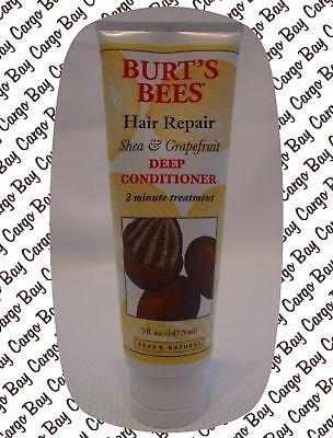 Grapefruit Deep Conditioner - BURT'S BEES HAIR REPAIR SHEA & GRAPEFRUIT DEEP HAIR CONDITIONER & 4 LIP BALM