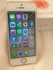 Good Condition iPhone SE Rose Gold O2, Tesco & Giffgaff. Can Deliver