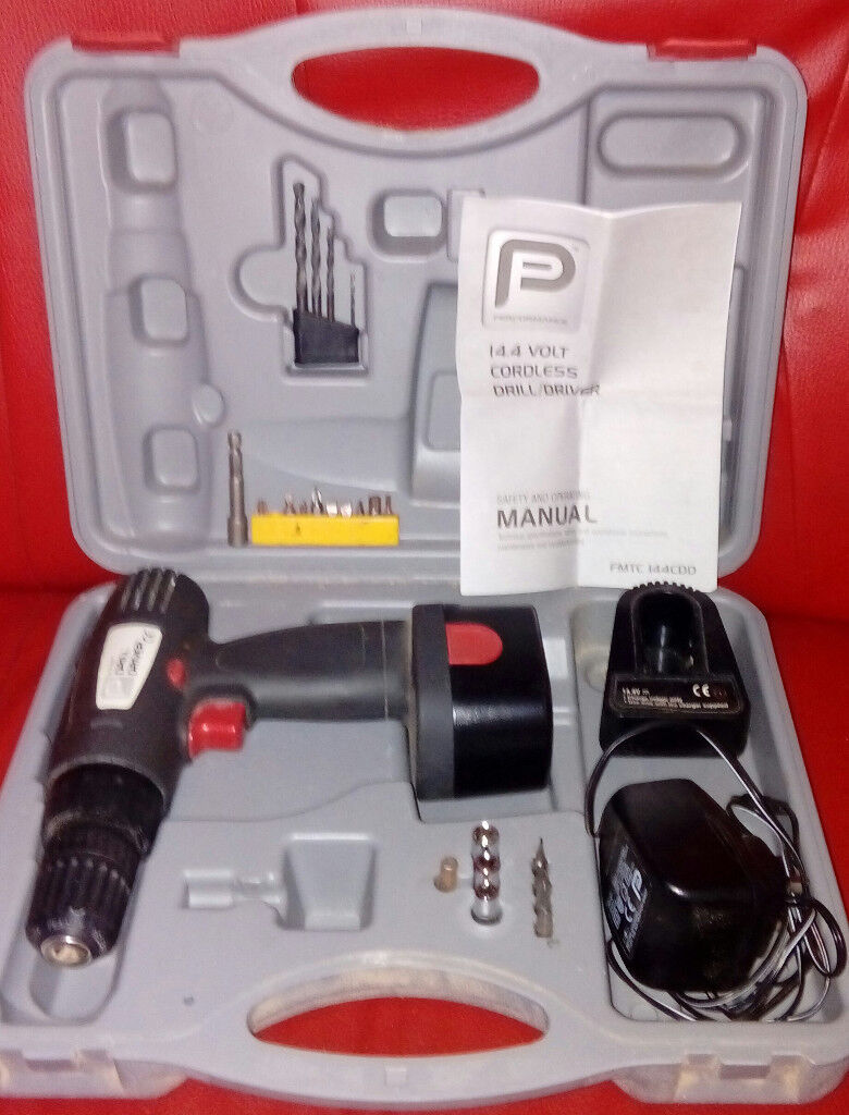 14.4v performance cordless drill in case for sale in liverpool