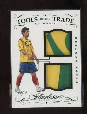 2016 Panini Flawless Tools Of The Trade Fredy Montero 1/1 Patch Jersey