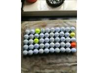 1900 Golf Balls, mostly top brands
