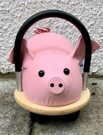 Kids / Childrens Wheelybug Pig - Small (Age 1-3 years) (RRP £65)