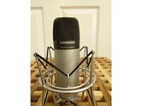 Samson C01 with shock mount & Shure PG81 condenser microphone
