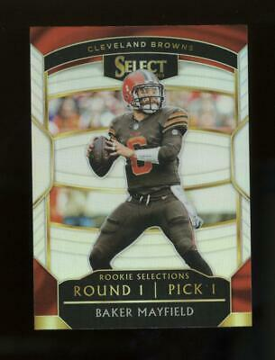 2018 Panini Select Silver Prizm #RS1 Baker Mayfield RC Rookie