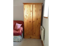 Pine Wardrobe - Spotless, Clean, no marks, dings or scratches