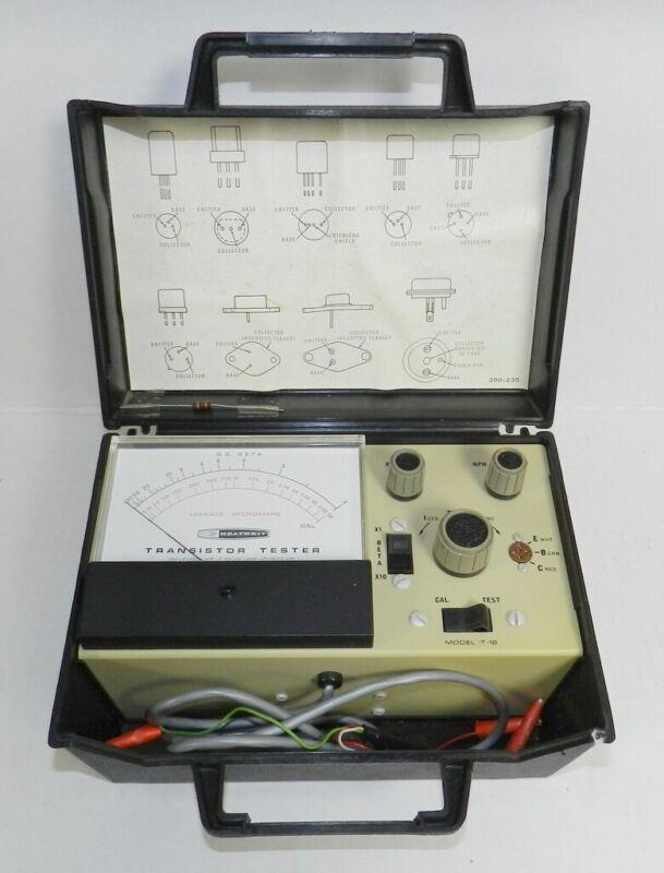 Vintage Heathkit Transistor Checker Tester Model IT-18