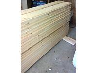 Cladding planks pine interlocking