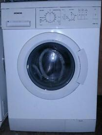 Simens washing machine.
